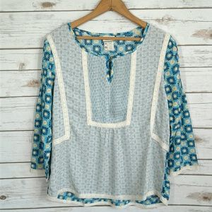 Matilda Jane Hello Lovely Kalidescope Peasant Top